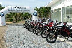 BMW MOTORAT ТАИЛАНД управляя уча BMW GS 800 на 6-ое июня 2015 Стоковые Изображения