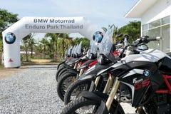 BMW MOTORAT ТАИЛАНД управляя уча BMW GS 800 на 6-ое июня 2015 Стоковые Фото