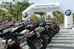 BMW MOTORAT THAILAND Driving teaching BMW GS 800 at June 6, 2015 Stock Photography