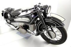 BMW motorbike stock photo
