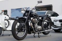 BMW motorbike - Old timer Royalty Free Stock Image