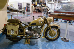 BMW Motorcycle Afrika Corps 1942 Royalty Free Stock Photography