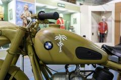 BMW Motorcycle Afrika Corps 1942 Stock Image