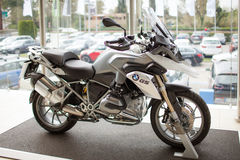 BMW Motorcycle Stock Photo