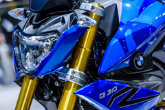 BMW Motorcycles G 310 R. Royalty Free Stock Photo