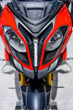 BMW Motorcycles S1000 XR. BANGKOK - MARCH 24 : BMW Motorcycles S1000 XR on display at The 36th Bangkok International Motor Show Art of Auto on March 24, 2015 in Stock Photo
