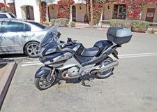 BMW motorcykel Arkivfoto