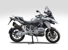 BMW motorcykel GS R1200 Arkivfoto