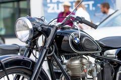 BMW-Motorrad - alter Timer Lizenzfreies Stockbild