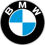 BMW Motorsport logo retro. BMW AG is a German multinational company which currently produces automobiles and motorcycles, and also produced aircraft engines stock illustration