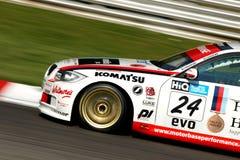 bmw-motorsportlag Arkivfoton