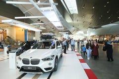 BMW museum i Munich Arkivfoto