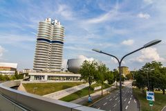 BMW Museum in Munich royalty free stock images