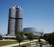 BMW Museum at Munich Royalty Free Stock Photography