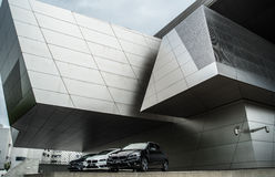 BMW museum in Munich, Germany Royalty Free Stock Photos