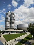 BMW Museum, Germany outside view Munich stock image