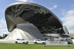 BMW museum, Munich, Tyskland Arkivbild