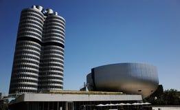 BMW museum på Munich Royaltyfri Foto