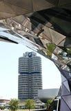 BMW museum på Munich Royaltyfri Fotografi