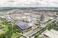 BMW-Museum und die BMW-Fabrik, München Stockfoto