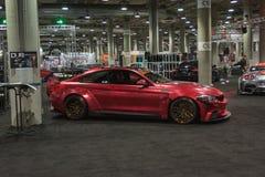 BMW nastrajanie na pokazie Fotografia Royalty Free