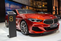 BMW 8 royalty-vrije stock foto