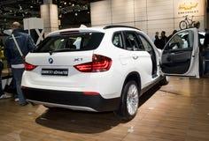 BMW novo X1, SUV, 4WD Imagens de Stock Royalty Free