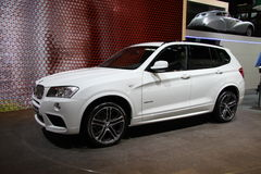 BMW novo X3 xDrive35i Imagem de Stock