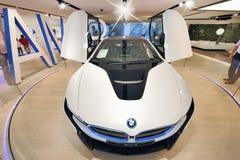 BMW ny modell Royaltyfri Foto