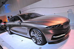 BMW Pininfarina Grand Lusso coupe concept on display at BMW World 2014 Stock Photography