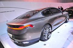 BMW Pininfarina Grand Lusso coupe concept on display at BMW World 2014 Royalty Free Stock Photography