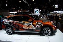 BMW X Powder Ride modèle Photo stock