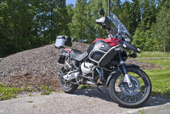 Bmw r 1200 gs adventure. One thing is certain - you can always trust on the engine in the BMW, R 1200 GS Adventure. The new DOHC cylinder heads-means both that Royalty Free Stock Images