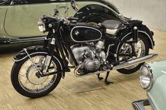 BMW R50 (1955) door 2 cilinder OHV wordt aangedreven - Boksermotor die Royalty-vrije Stock Foto