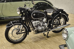 BMW R50 (1955) powered by 2 cylinder OHV - Boxer engine Royalty Free Stock Photo