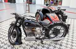 A 1937 BMW R5 retro motorcycle Royalty Free Stock Photo