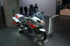 BMW R1200 RT Emergency version Stock Photos