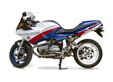 BMW R1100S Boxer cup Royalty Free Stock Photo