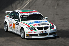 Bmw race car Stock Image
