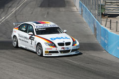 Bmw race car Royalty Free Stock Images