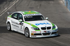 Bmw race car Royalty Free Stock Photography