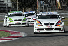 BMW race cars Royalty Free Stock Images