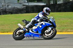 BMW race motorcycle royalty free stock images
