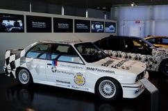 BMW racerbil Royaltyfri Fotografi