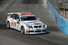Bmw racing car Royalty Free Stock Photo