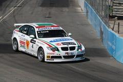 Bmw racing car Royalty Free Stock Photo