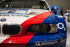 BMW Rally in BMW Museum Royalty Free Stock Photos