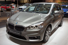 BMW-2-reeksen Actieve Tourer-auto Royalty-vrije Stock Fotografie