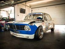 BMW 3 reeksenraceauto Stock Afbeeldingen