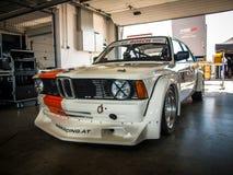 BMW 3 reeksenraceauto Stock Fotografie
